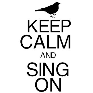 Keep Calm and Sing On