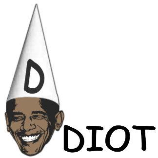 Idiot Obama, anti Obama merchandise