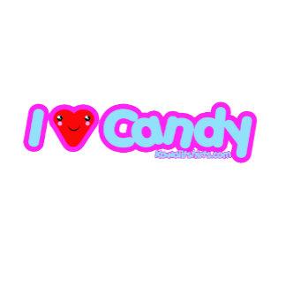 I love Candy Kawaii t-shirts