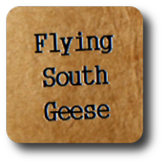 Flying South Geese