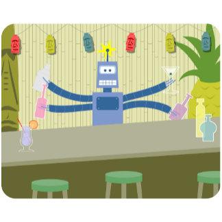 Robot Tiki Bar Bartender