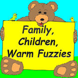 Family, children, warm fuzzes