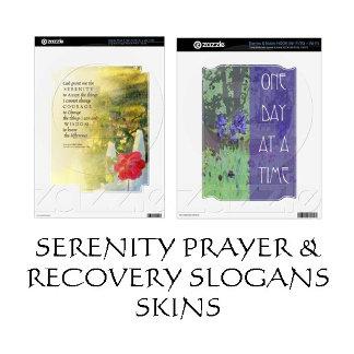 Serenity Prayer Recovery Slogans Skins