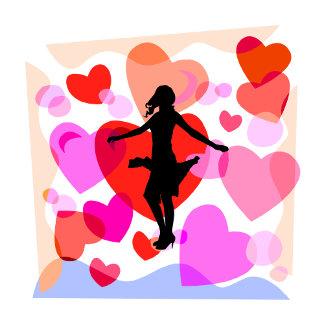 ballroom dancer hearts 3
