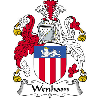 Wenham Family Crest