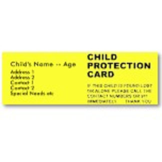 >Child Protection/ ID Cards