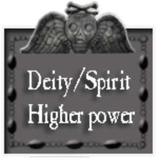 deity/spirit/higher power