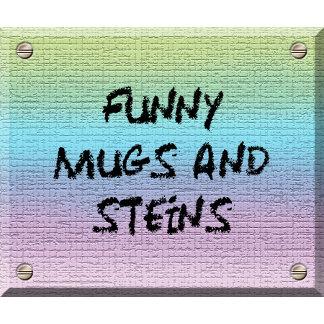 FUNNY MUGS & STEINS