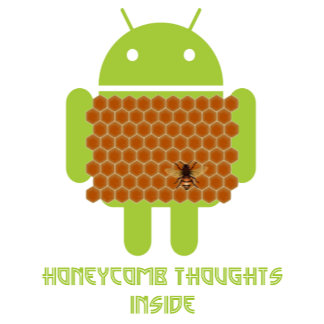 Honeycomb Thoughts Inside (Android Bee)