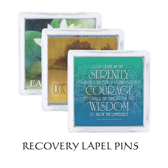 Recovery Lapel Pins