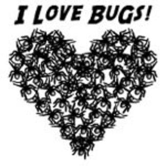 I Love Bugs (Black)