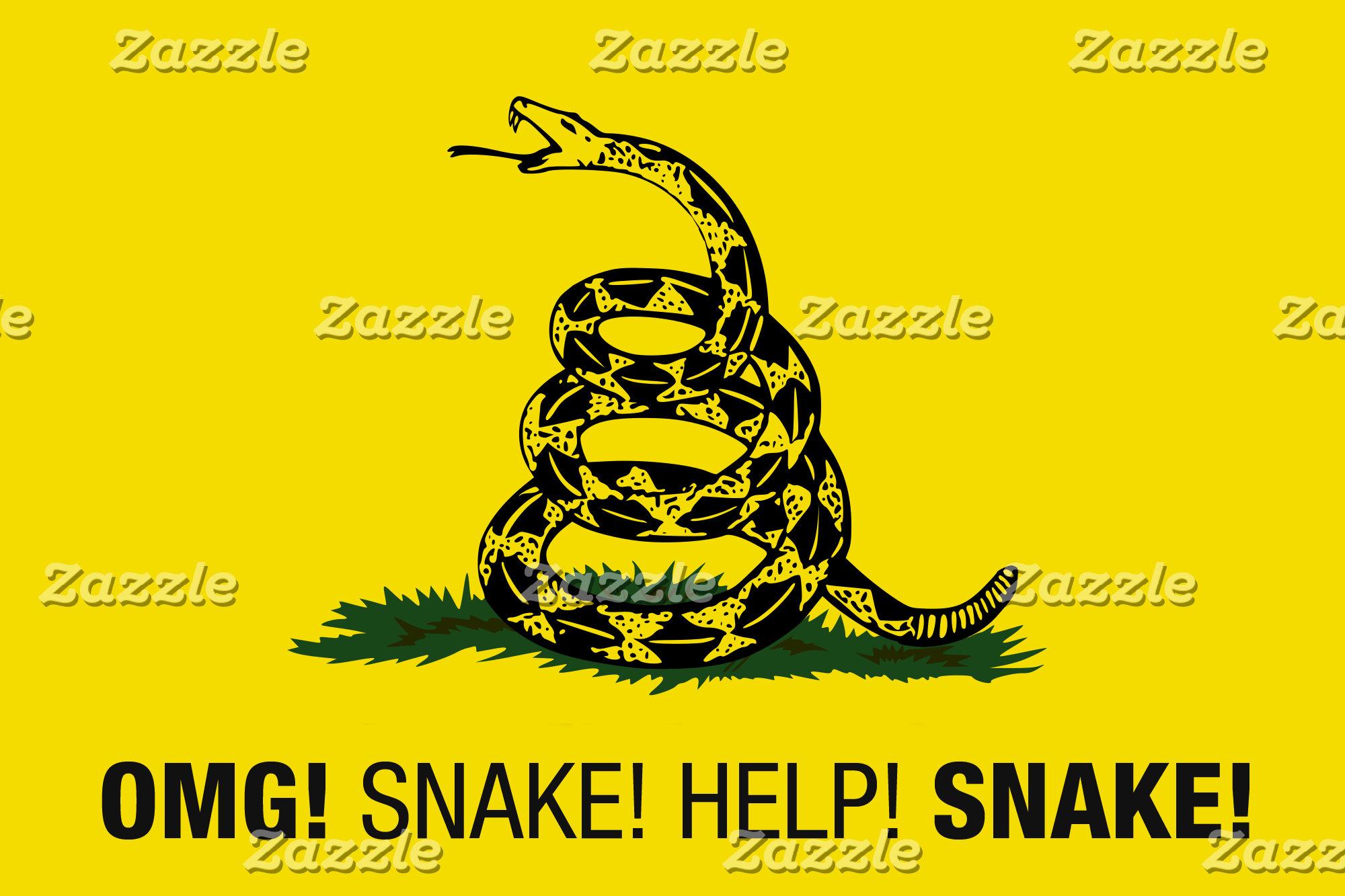 OMG! Snake! Help! Snake!