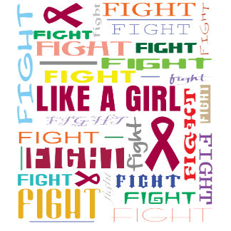 Multiple Myeloma Fight Like a Girl Collage