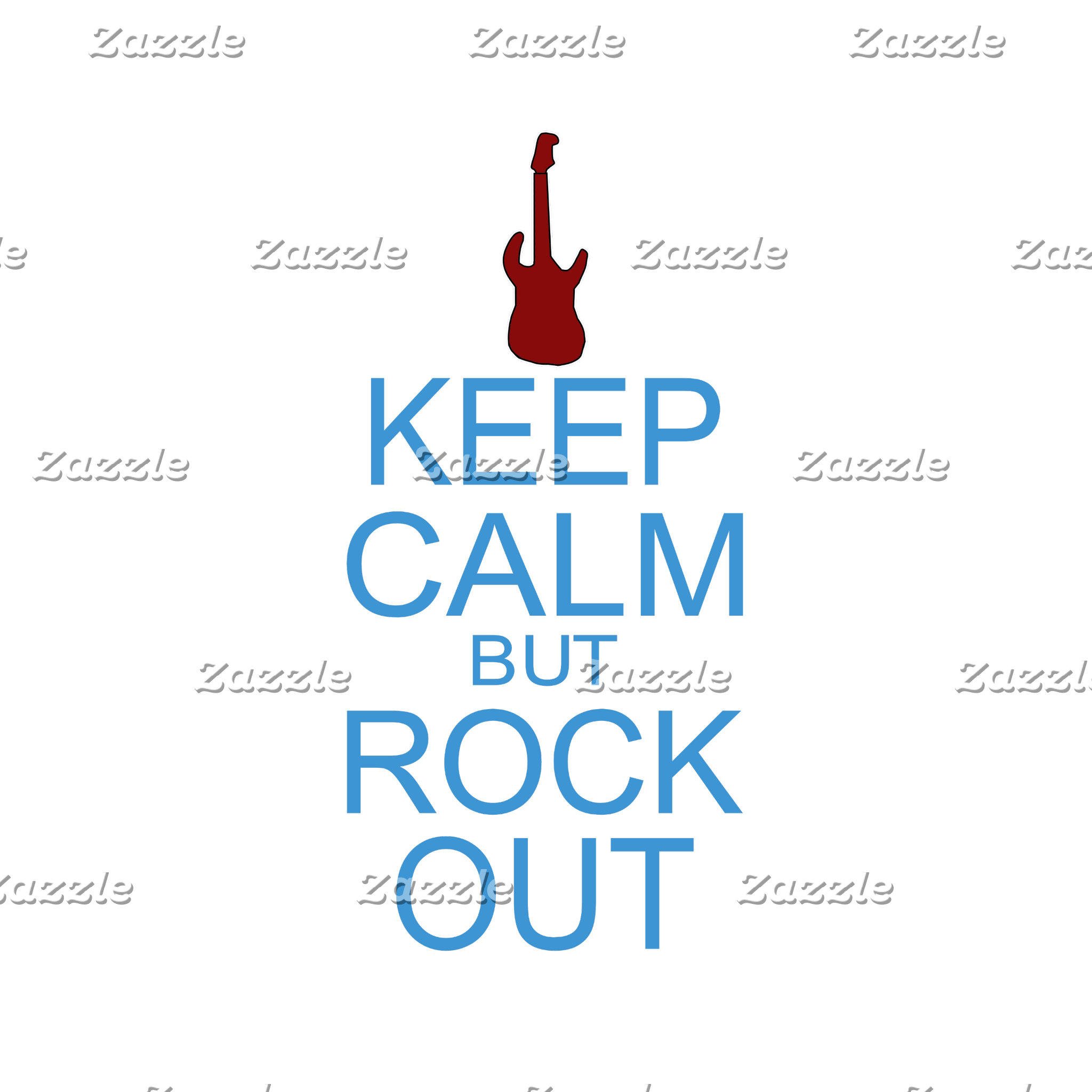 Keep Calm But Rock Out - Guitar Parody