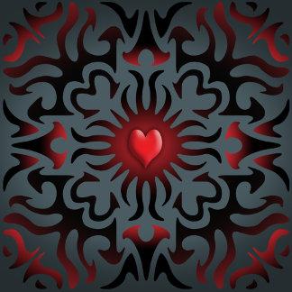 TOFFEE APPLE HEART