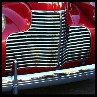 Classic Red Car 3