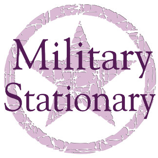 ♥ Military Stationery ♥