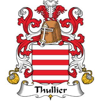 Thullier Family Crest