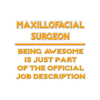 Maxillofacial Surgeon .. Job Description
