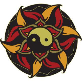 Yin Yang Blooming Lotus
