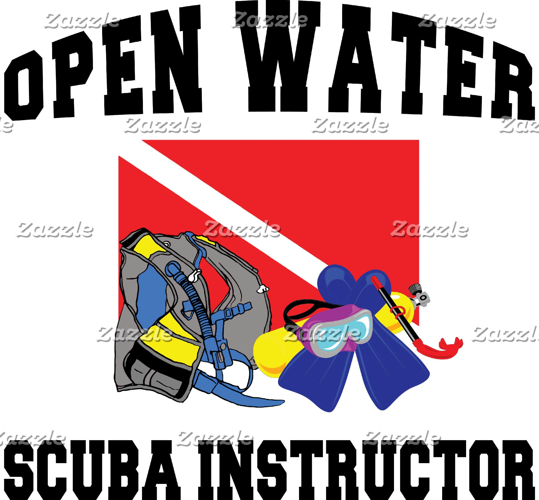 Open Water SCUBA Instructor T-Shirt Gift