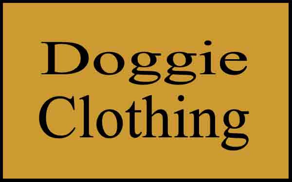Doggie Clothing