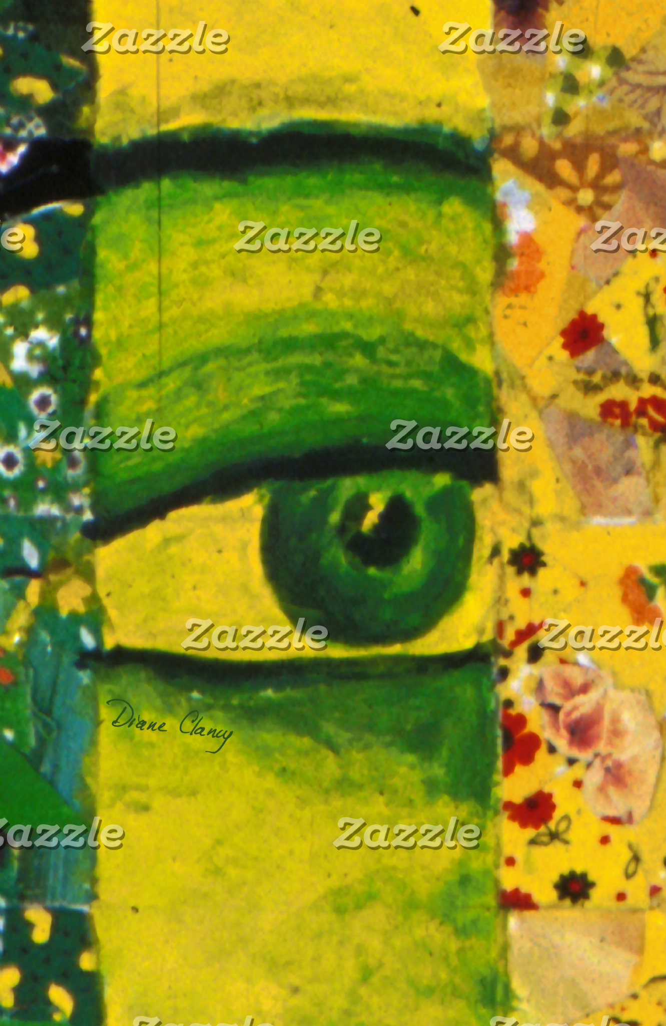 The Eye - Gold & Emerald Awareness