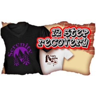 12 Step Recovery T-shirts  Gifts  Cards