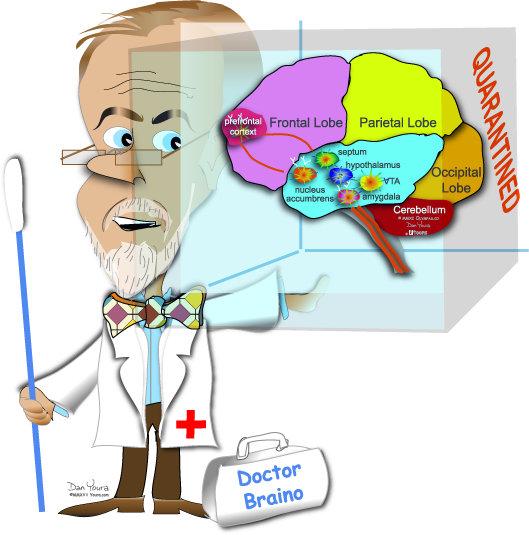 Dr Braino Quarantined Brain