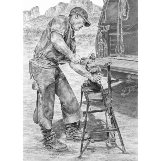 Farrier Note Cards & Greeting Cards