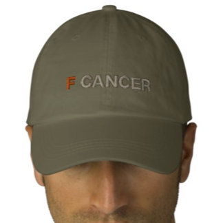 f cancer hats