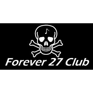 Forever 27 Club Skull