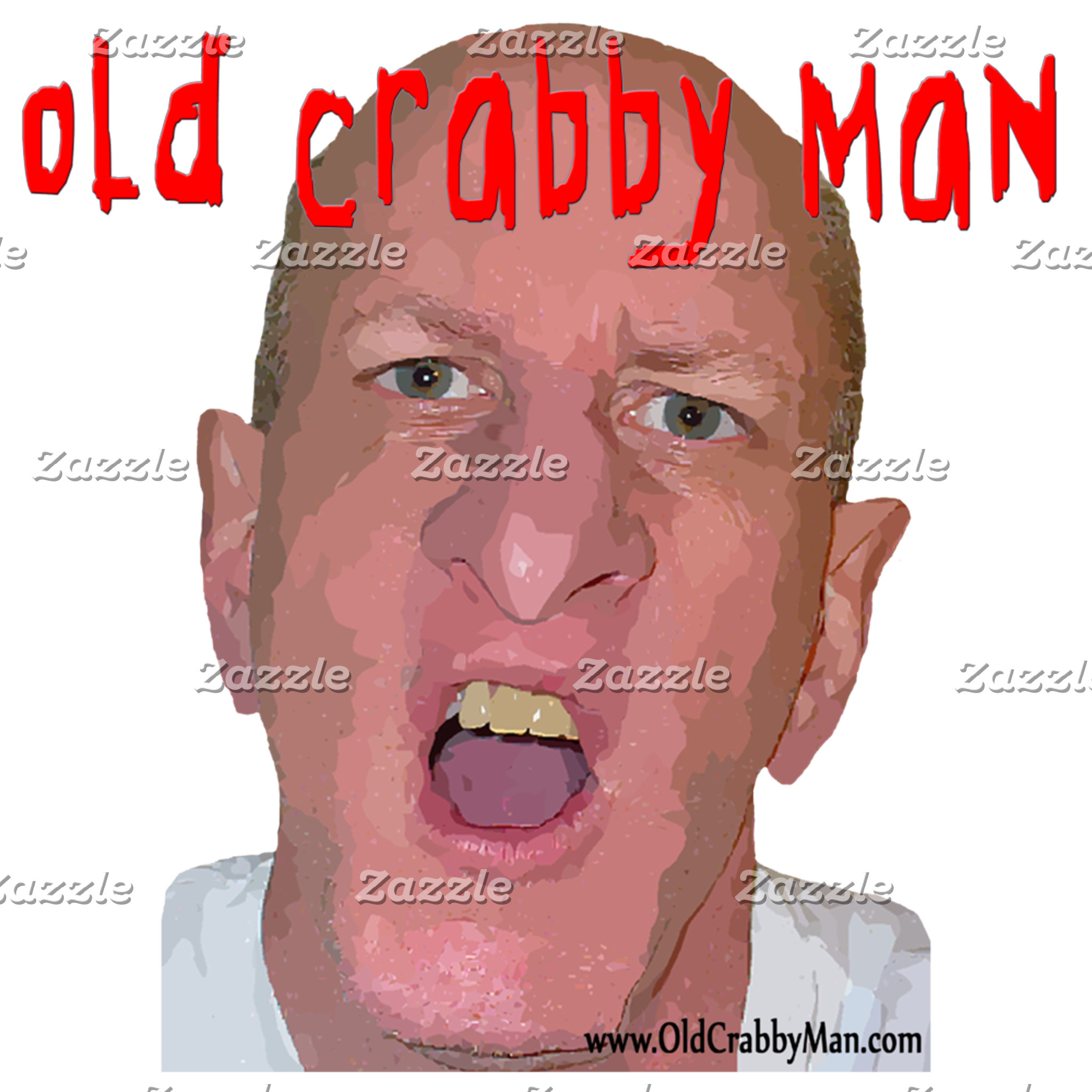 """""""Old Man"""" Designs - Exclusively from TShirtDotCom"""