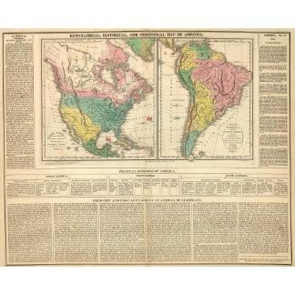 European Discovery of America Atlas Map