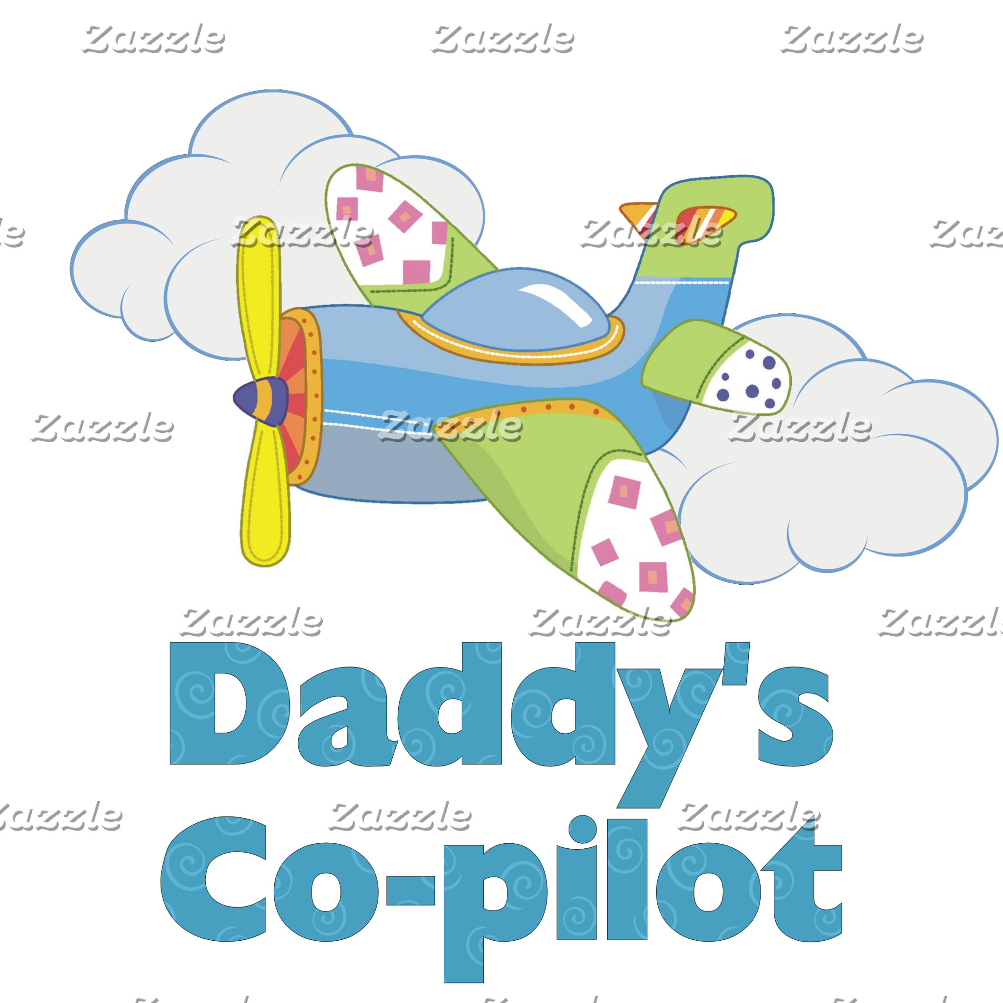 Daddy's Co-pilot (boy)