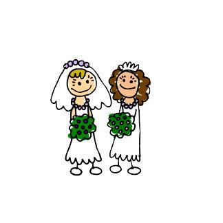 Two Cute Little Brides