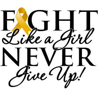 Appendix Cancer Fight Like a Girl Never Give Up