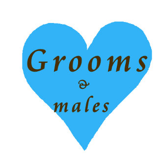 Groom & male persons