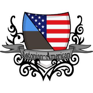 Estonian-American Shield Flags