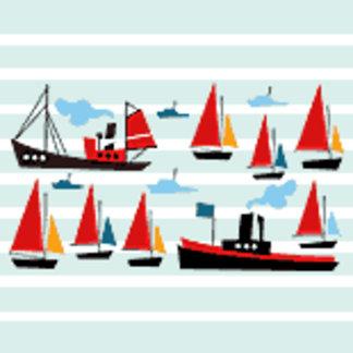 Retro Ships and Boats