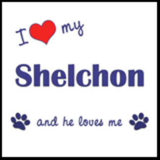I Love My Shelchon (Male Dog)