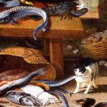 Cats eating crustaceans