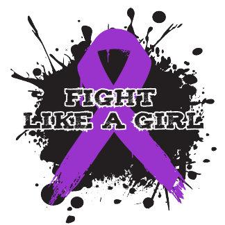 Fight Like A Girl Splatter - Epilepsy