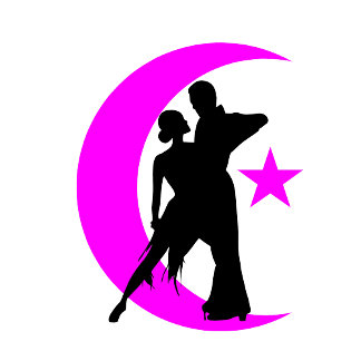Ballroom moon star 4 pink