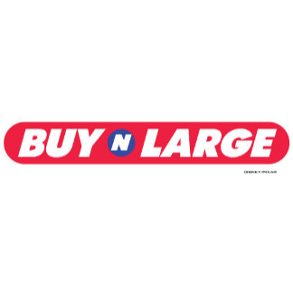 "Disney WALL-E ""Buy N Large"" Logo"