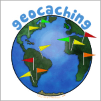 Earth With Flags Geocaching