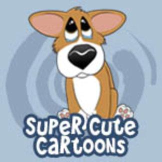 Super Cute Corgi Cartoons