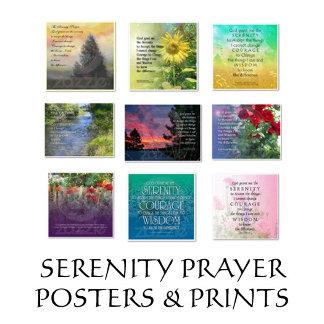 Serenity Prayer Posters & Prints