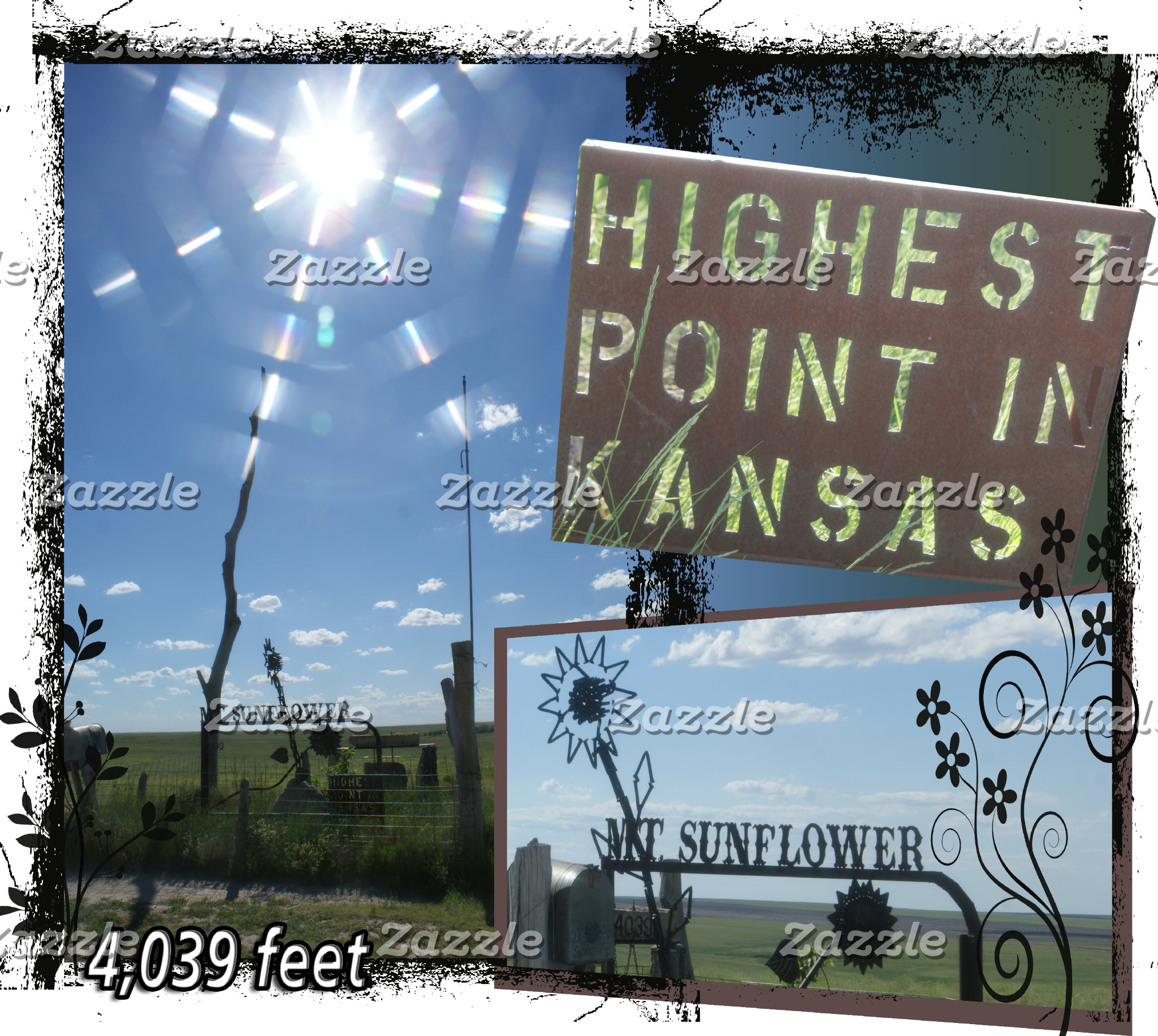 HIGH POINT KANSAS -Mt. SUNFLOWER