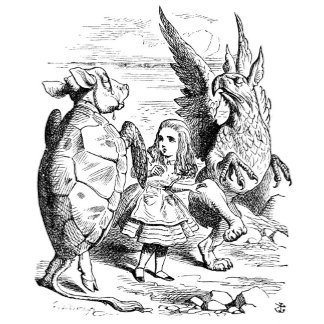 Alice with the Gryphon and Mock Turtle Dance